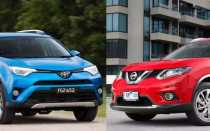 Тойота Рав 4 или Ниссан Х Трейл: соперничество японцев