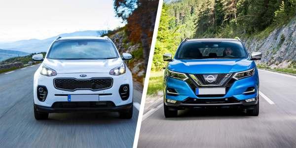 Nissan Qashqai vs KIA Sportage