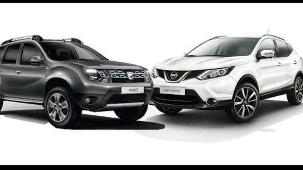 Nissan Qashqai vs Renault Duster