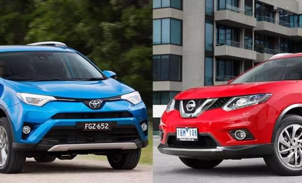 Nissan X-Trail vs Toyota RAV4