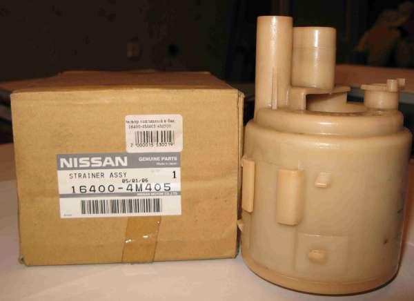 Топливный фильтр на Ниссан Альмера